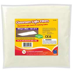 Classroom Mood Filters 4/Set Whisper White By Educational Insights