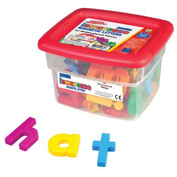 Alphamagnets Jumbo Lowercase 42 Pieces Multicolored By Educational Insights