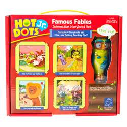 Hot Dots Jr Interactive Storybook Set Famous Fable, EI-2328