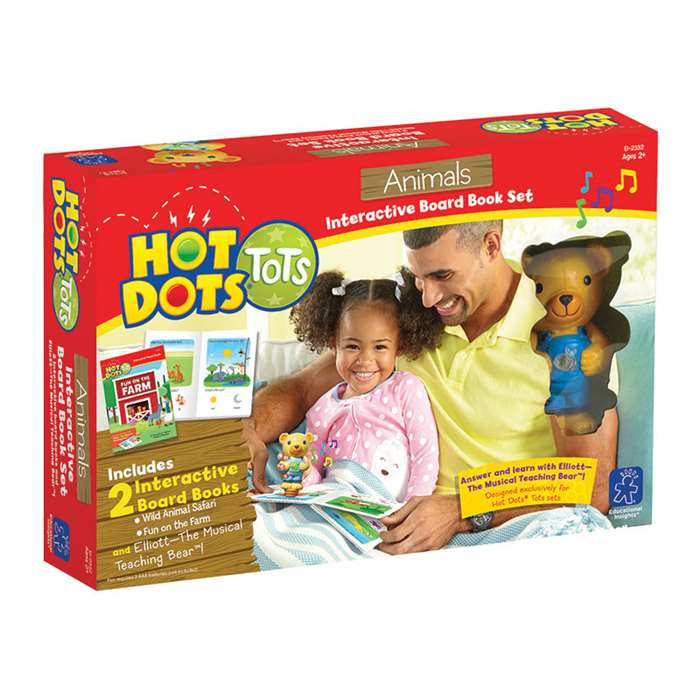 Hot Dots Tots Animals, EI-2332