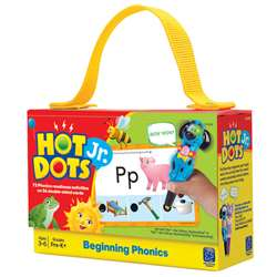 Hot Dots Jr Cards Beginning Phonics By Educational Insights