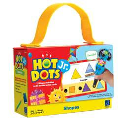 Hot Dots Jr Cards Shapes By Educational Insights