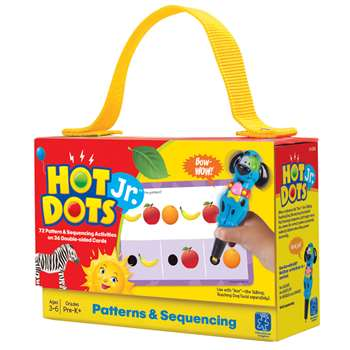 Hot Dots Jr Cards Patterns & Sequencing By Educational Insights