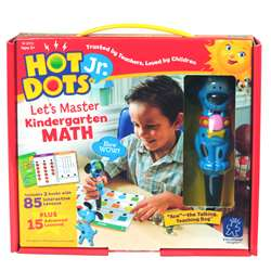 Hot Dots Jr Lets Master Math Gr K, EI-2373