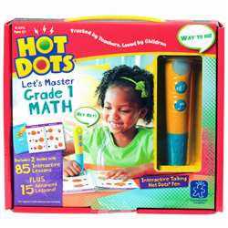 Hot Dots Jr Lets Master Math Gr 1, EI-2374