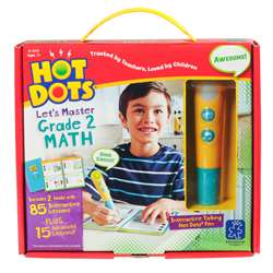 Hot Dots Jr Lets Master Math Gr 2, EI-2375