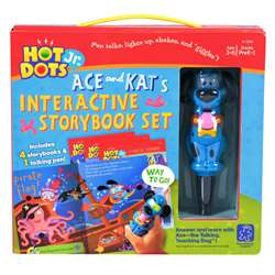 Hot Dots Jr 4 Book & Pen Set By Educational Insights