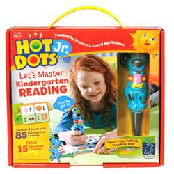 Hot Dots Jr Lets Master Reading Gr K, EI-2391