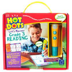 Hot Dots Jr Lets Master Reading Gr 3, EI-2394