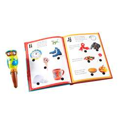 Hot Dots Jr Lets Learn The Alphabet Interactive Bo, EI-2395