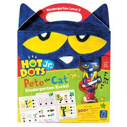 Hot Dots Jr Pete The Cat Kindergarten Rocks & Pen, EI-2454