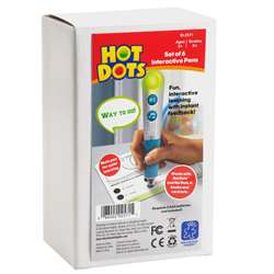 Hot Dots Talking Pen 6 Set Silver, EI-2571