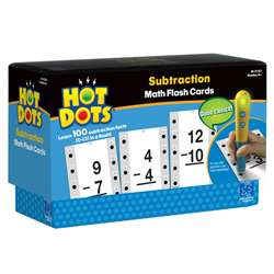 Hot Dots Subtraction Facts 10-13 By Educational Insights