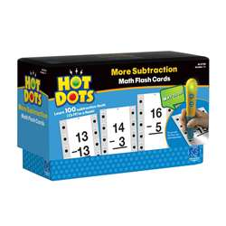 Hot Dots More Subtraction Facts 13-19 By Educational Insights