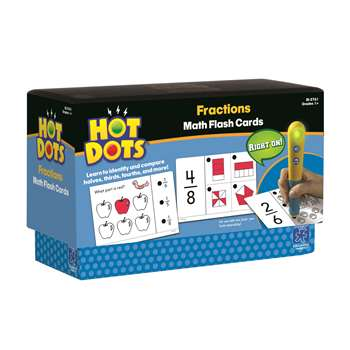 Hot Dots Flash Cards Fractions By Educational Insights