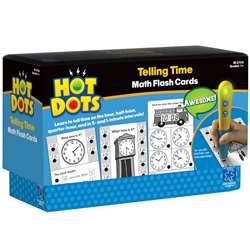 Hot Dots Flash Cards Telling Time By Educational Insights