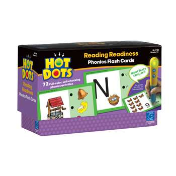 Hot Dots Phonics Program Set 1 Readiness By Educational Insights