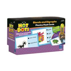 Hot Dots Phonics Program Set 4 Blends & Digraphs By Educational Insights