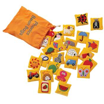 Exceptional Phonics Bean Bags By Educational Insights