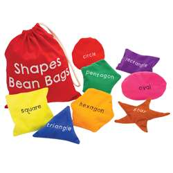 Shapes Bean Bags By Educational Insights