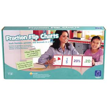 Fractions Modular Flip Charts By Educational Insights