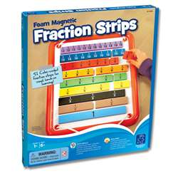 Foam Magnetic Fraction Bars By Educational Insights