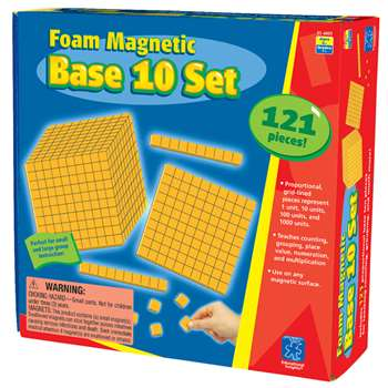 Foam Magnetic Base 10 Set By Educational Insights
