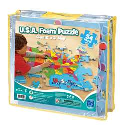 Usa Foam Map Puzzle By Educational Insights