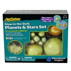 "Geosafari Glow "" The Dark Planets And Stars Set, EI-5234"