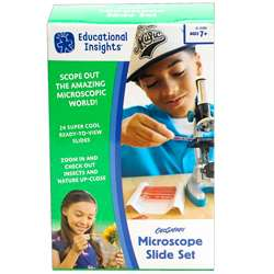 Geosafari Microscope Slide Set, EI-5286