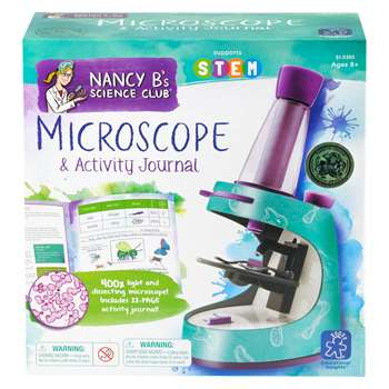 Nancy B Science Club Microscope & Activity Journal By Educational Insights