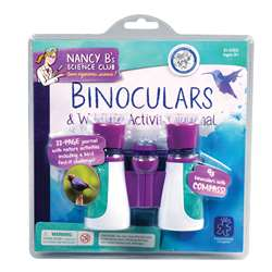 Nancy B Science Club Binoculars & Wildlife Activity Journal By Educational Insights