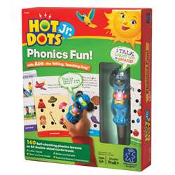 Phonics Fun 80 2-Sided Cards & Power Pen By Educational Insights