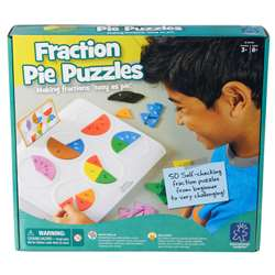 Fraction Pie Puzzles By Educational Insights