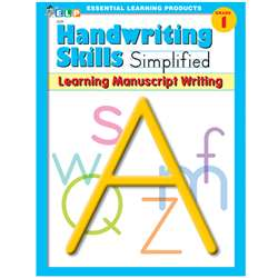 Handwriting Skills Simplified Learning By Essential Learning Products