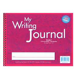 My Writing Journals Pink Gr 1 By Essential Learning Products