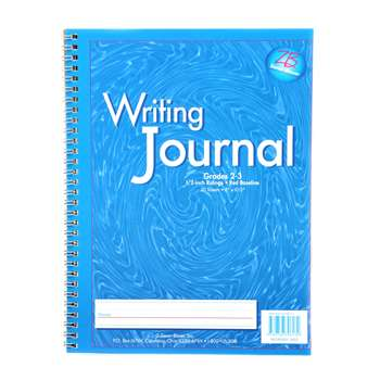 My Writing Journals Blue Gr 2-3 By Essential Learning Products
