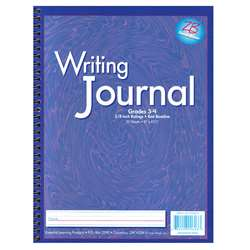 My Writing Journals Purple Gr 3-4 By Essential Learning Products