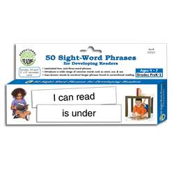 50 Sight Word Phrases For Developing Readers, ELP133025
