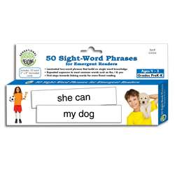 50 Sight Word Phrases For Emergent Readers, ELP133026