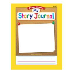 "Zaner Bloser Story Journal Gr K 3/4"" Ruling, ELP311843"