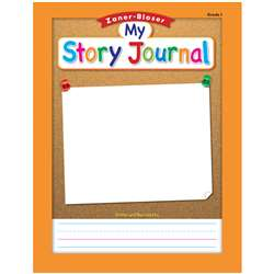 "Zaner Bloser Story Journal Gr 1 5/8"" Ruling, ELP311844"