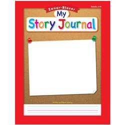 "Zaner Bloser Story Journal Gr 3-4 3/8"" Ruling, ELP311846"