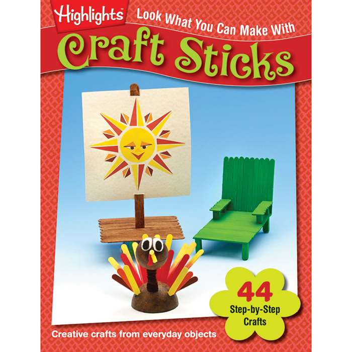 Look What You Can Make With Craft Sticks By Essential Learning Products