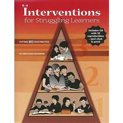 Interventions For Struggling Learners By Essential Learning Products