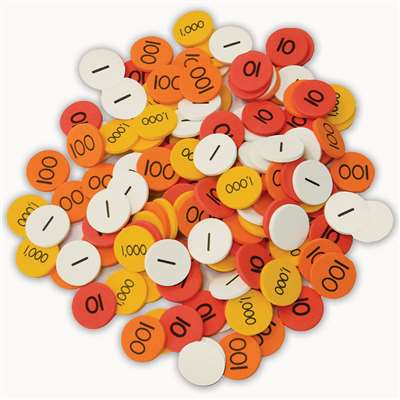 Place Value Disks Gr 1-3 By Essential Learning Products