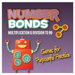 Number Bonds Cd Rom Multiplication & Division By Essential Learning Products