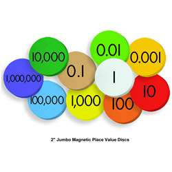 10-Value Jumbo Magnetic Place Value Demonstration , ELP626640