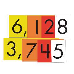 4-Value Whole Numbers Place Value Cards Set, ELP626642