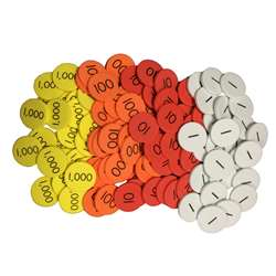 Place Value Disc 4 Value Whole Num Sensational Mat, ELP626658
